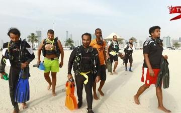 الصورة: (ح1) متطوعو البيئة البحرية.. درع واقية ضد التلوث