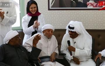 الصورة: (ح5) إبراهيم جمعة والشياب.. أهازيج شعبية تعيد الشباب