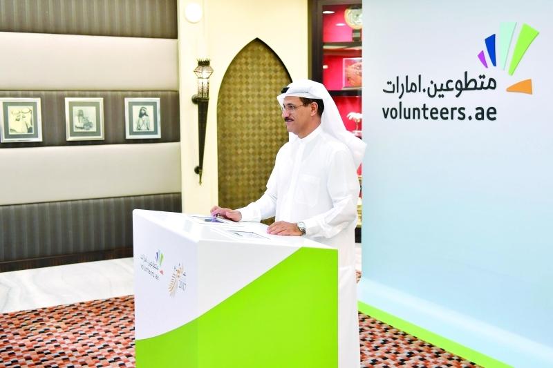 الصورة : سلطان المنصوري خلال انضمامه للمنصة