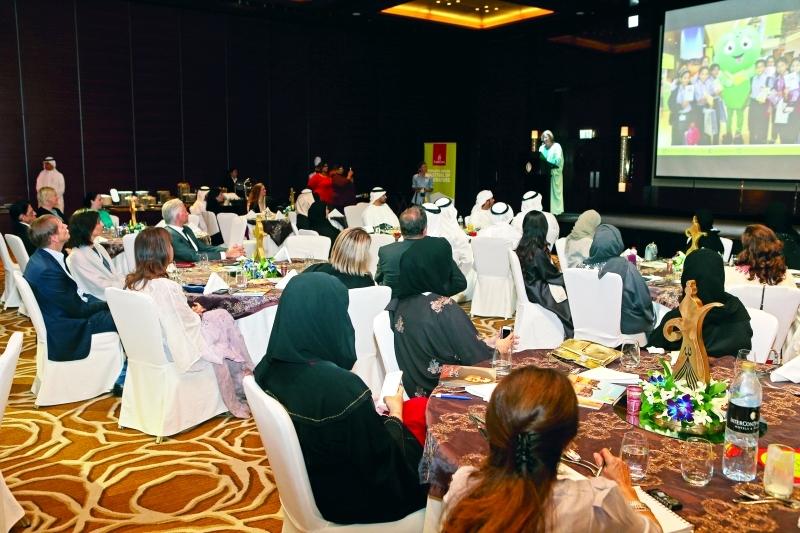■  جانب من أجواء سحور مؤسسة الإمارات للآداب  |  تصوير عماد علاء الدين