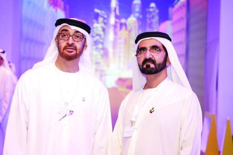 الصورة : رؤية محمد بن راشد ومحمد بن زايد لمستقبل الإمارات تستحضر التطوير والازدهار على المدى البعيد | أرشيفية