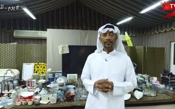 الصورة: (ح11) عبدالله الجفالي: متعة العمل التطوعي لا تضاهيها متعة