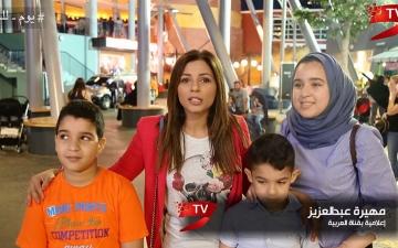 الصورة: (ح12) مهيرة عبد العزيز: الشخصيات العامة تحفز على فعل الخير