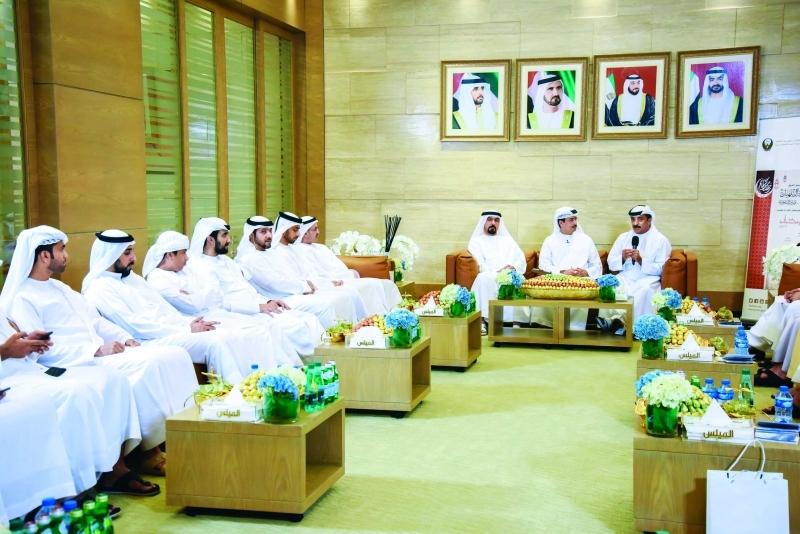 ■  جانب من مجلس الوزارة في دبي