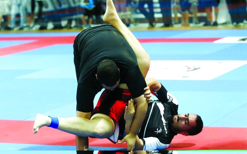 الصورة : ■   منافسات الجوجيتسو بدون البدلة تقام في الخيمة الرياضية    البيان