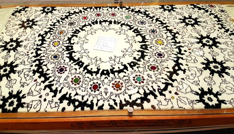 الصورة : «حب، سلام، انسجام».. عمل للشيخة مريم خليفة آل نهيان