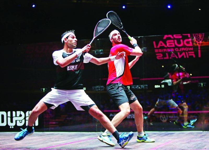 الصورة : ■ عودة قوية لمحمد الشوربجي في بطولة دبي  |  البيان