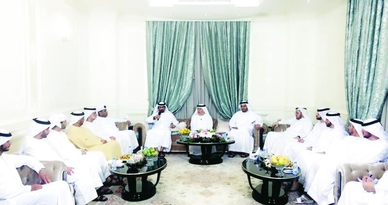 الصورة : Ⅶ جانب من مجلس الداخلية في أبوظبي     من المصدر
