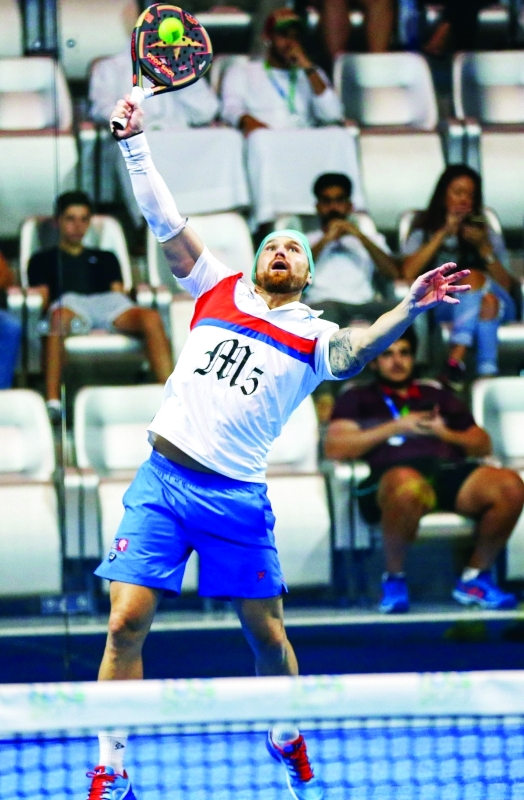 الصورة : أداء قوي للاعبي الأرجنتين في البطولة