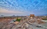 الصورة: «مسجد البدية» أربع قباب تروي تاريخ الأجداد