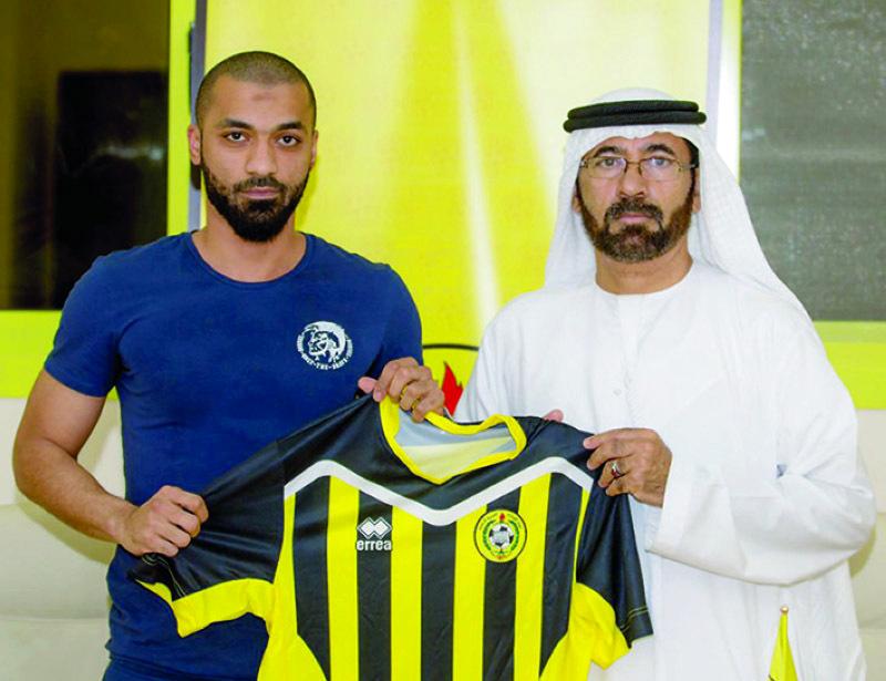 كلباء يتعاقد مع منصور محمد وينتظر المدرب جبور - البيان