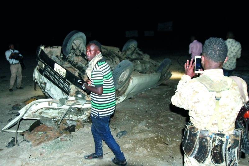 5 قتلى في تفجير إرهابي قرب مقديشو - البيان