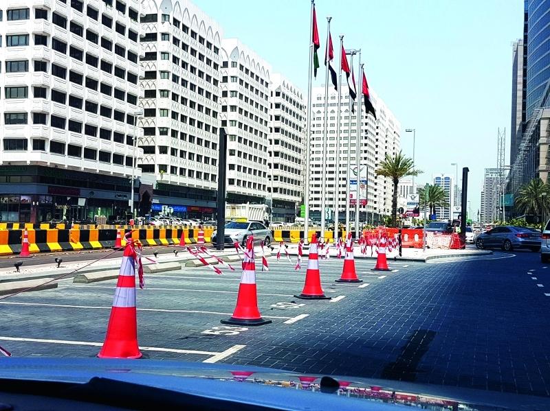 المرحلة الثانية تطال المنطقة الممتدة من «أبوظبي مول» حتى فندق المريديان