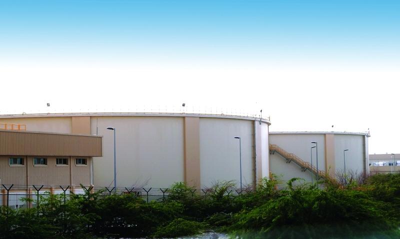 الصورة : ■ إنشاء خزانات مياه أرضية لزيادة السعة مستقبلاً     من المصدر