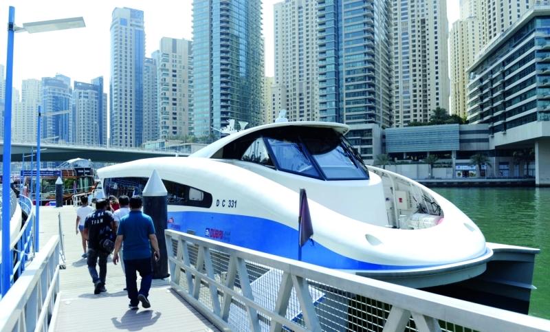 النقل البحري يعزز التوجه السياحي لإمارة دبي |  من المصدر