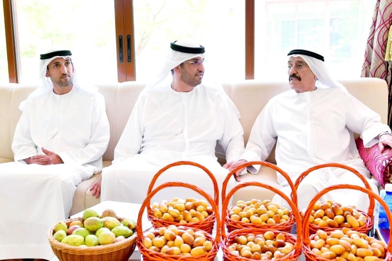 سلطان الجابر ومحمد المزروعي ومحمد النابودة