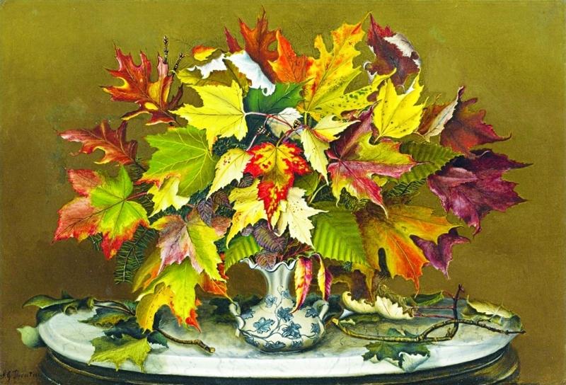 """الصورة : Ⅶ """"أوراق الخريف"""" لساره جين برينتيس"""