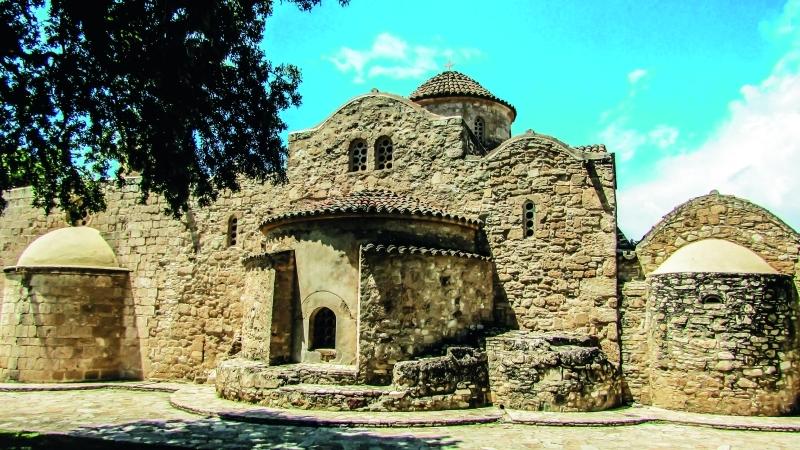 الصورة : القلاع التاريخية من أهم المعالم السياحية في قبرص