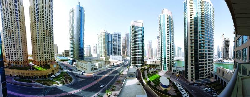 الصورة : تنظيم العاقات الإيجارية في إمارة دبي   أرشيفية