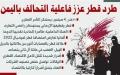 الصورة: طرد قطر عزز فاعلية التحالف باليمن