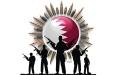الصورة: أبواق قطر تتساقط