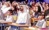 الصورة: محمد بن راشد يطلق تحدي ترجمة 11 مليون كلمة للعربية