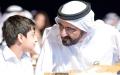 الصورة: محمد بن راشد يطلق أضخم مشروع تعليمي إلكتروني في العالم العربي