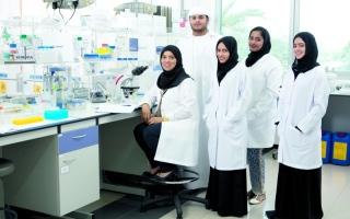 الصورة: العالمات الإماراتيات.. بصمة واضحة في تكنولوجيا الوراثة