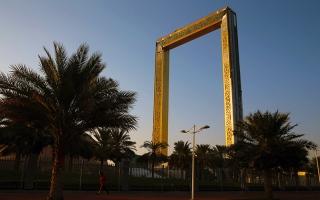 الصورة: برواز دبي.. معلم حضاري جديد يضاف إلى معالم دبي الأيقونية