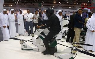 الصورة: الدراجة الطائرة.. حلول مبتكرة للتغلب على الازدحام
