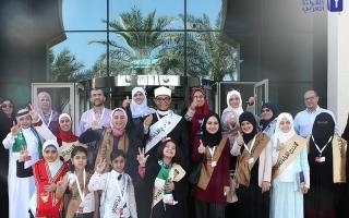 الصورة: 16 بطلاً عربياً: الإمارات تنير طريق العرب
