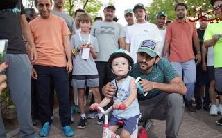 الصورة: تحدي دبي للياقة يبدأ مسيرة الـ ٣٠ يوماً بمشاركة واسعة