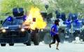 الصورة: يد طهران تزرع الفوضى والدمار في البحرين