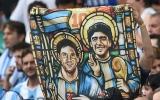 الصورة: الصورة: هل المقارنة بين مارادونا وميسي عادلة؟