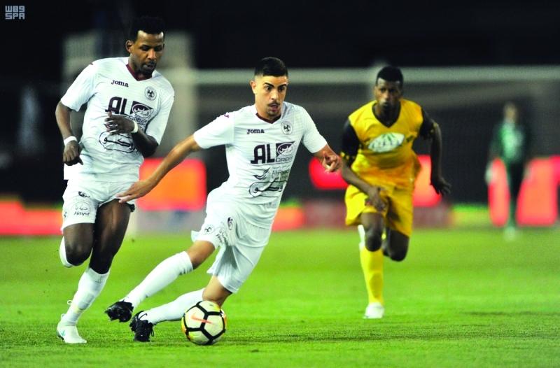 الفيصلي ثالث الدوري السعودي - البيان