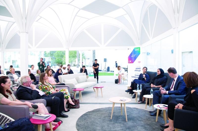 الصورة : ■ تفاعل بين الحضور والمشاركين في الجلسات النقاشية     من المصدر