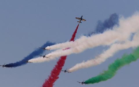 الصورة: معرض دبي للطيران ..كرنفال من المتعة والإبهار