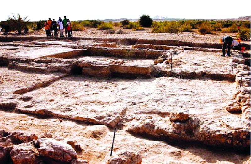 الصورة : Ⅶ  دير مسيحي قديم مكتشف في جزيرة صير بني ياس