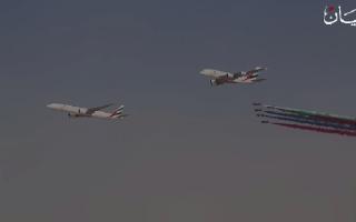 الصورة: معرض دبي للطيران.. طائرات العالم تحلق في سماء التميز