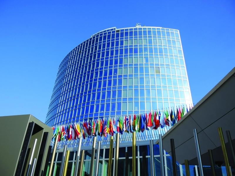 ■  مقر المنظمة العالمية للملكية الفكرية في جنيف     أرشيفية