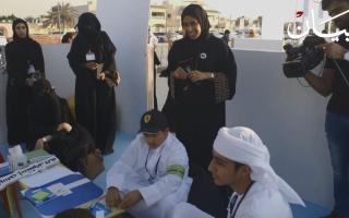 الصورة: أفكار أطفال الإمارات  إبداعات في شهر الابتكار