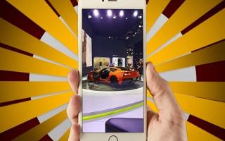 """الصورة: معرض دبي للسيارات.. """"سناب البيان"""" في قلب الحدث"""