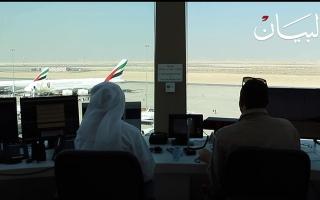 الصورة: برج المراقبة.. مركز تحكم 1500 طائرة تحلق في سماء دبي يومياً