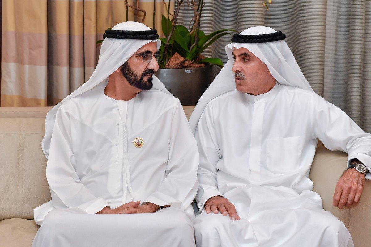 محمد بن راشد يعزي بوفاة حرم عبدالله أحمد الغرير - عبر ...