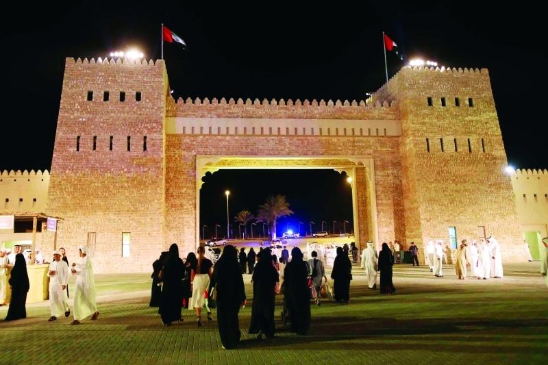 الصورة : المهرجان يجسد قيم التسامح والمحبة التي تتبناها دولة الإمارات تصوير: مجدي اسكندر