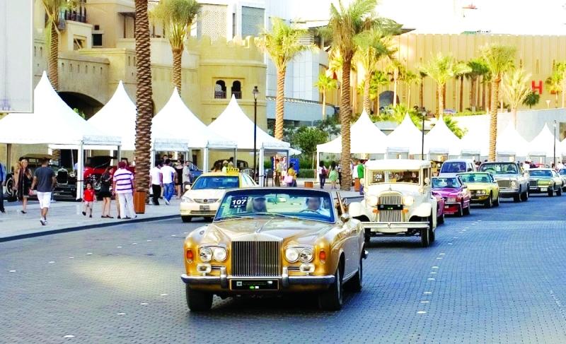 الصورة : اقتناء السيارات الكلاسيكية من أشهر الهوايات في الإمارات  |  البيان