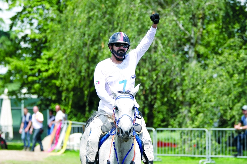 الصورة : ■  محمد بن راشد الداعم الأكبر لسباقات الخيول  |  أرشيفية