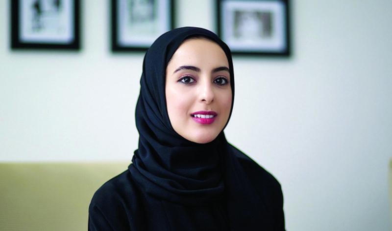 الصورة : شما المزروعي :  مبادرة تمكّن الشباب من التزود بالمهارات