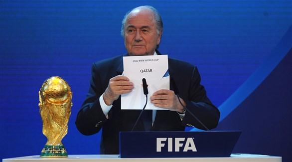 «فيفا» تمهد للإعلان عن سحب المونديال من قطر