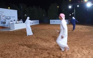 الصورة: تصفيات فزاع لليولة.. سباق في «ميدان» التراث
